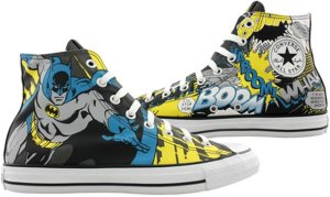 Batman Converse All Star Side 1