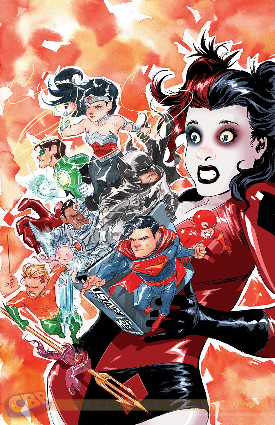 DC February Variant Covers Harley Quinn