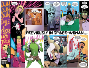 Edge of Spider-verse Previously On