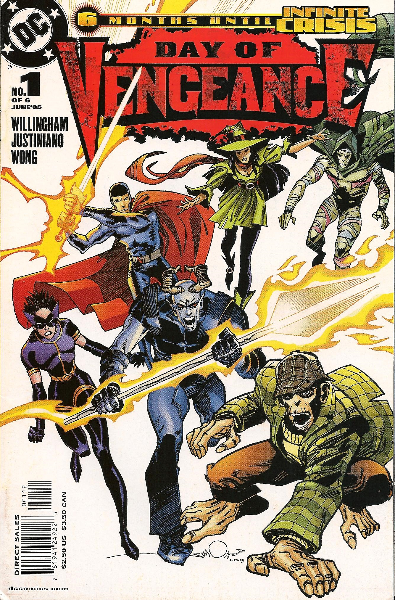 We Have Now Reach Comic Number 9 Of My 25 Part Mystery Series With 2005s Day Vengeance 1