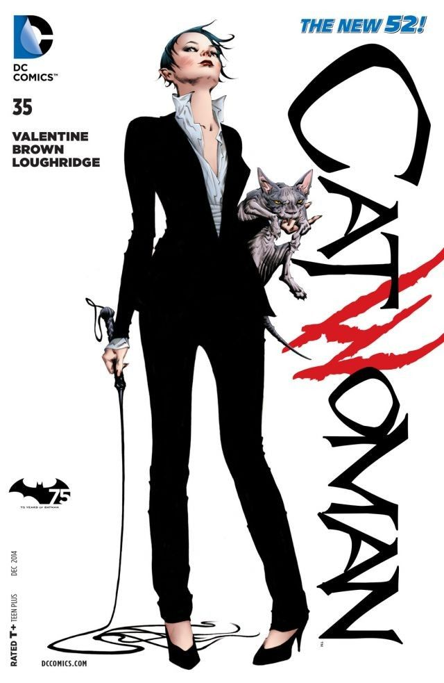 Catwoman 75th Anniversary Comic Books And Cats
