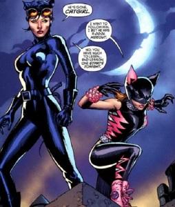 Catwoman & Catgirl