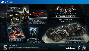 Arkham Knight - Amazon Batmobile