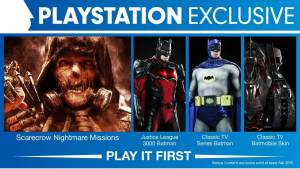 Arkham Knight - PS4 Exclusives