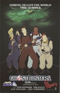 Comic Block June - Ghostbusters Get Real 1