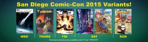 Comixology Exclusive Covers