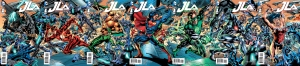 JLA 1 All Covers