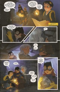 Batgirl Annual 3 - In the Style of Gotham Academy