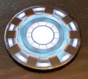 Comic Block July - Arc Reactor Coaster