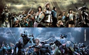 Final Fantasy Full cast