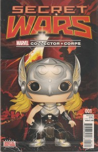 Secret Wars 1 Collector's Corps Variant Cover