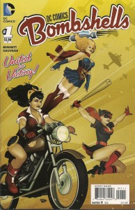 Comic Block August 15 - Bombshells 1