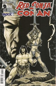 Comic Block August 15 - Red Sonja Conan 1 Comic Block Exclusive