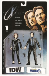 Comic Block August 15 - X-Files Season 11 Issue 1 Comic Block Exclusive