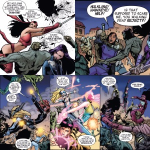 A-Force 5 Quips