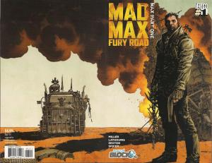 Comic Block September - Mad Max Fury Road 1 Nerd Block Exclusive Variant Stitch