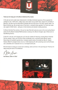 Marvel Unlimited Plus - Membership Letter Skitch