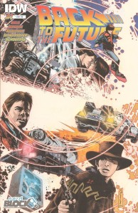 Back to the Future 1 - Comic Block Exclusive Variant