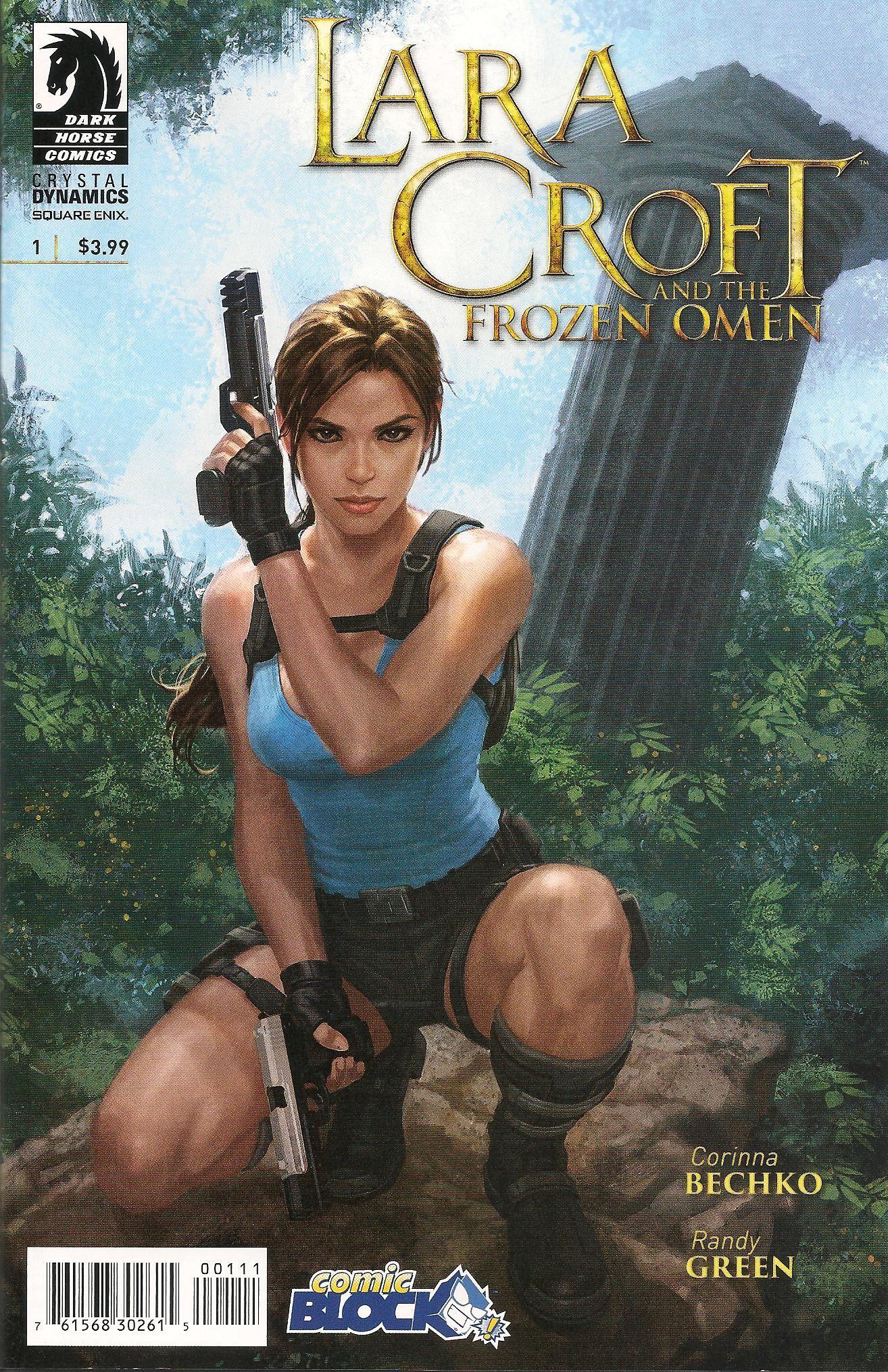 Lara croft horse exploited image