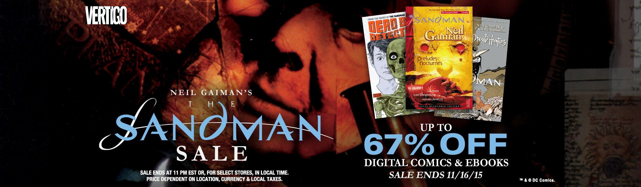 Comixology comic books and cats if spider gwen is not your thing there are some more sales going on this weekend as well there is a across the board sale on sandman comics fandeluxe Image collections