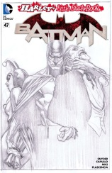 BATMAN #47 – Alex Ross Sketch