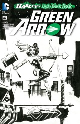 GREEN ARROW #47 – Tim Sale ink