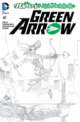 GREEN ARROW #47 – Tim Sale Sketch