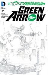 GREEN ARROW #47 – Tim Sale Sketch