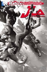 JUSTICE LEAGUE OF AMERICA #6 – Joe Madureira Ink 2