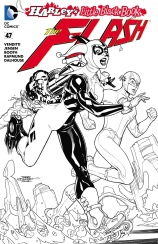 THE FLASH #47 – Terry Dodson Ink