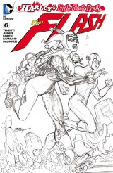 THE FLASH #47 – Terry Dodson Sketch