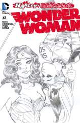 WONDER WOMAN #47 – Amanda Conner Sketch