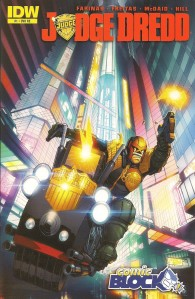 Judge Dredd 1 - Comic Block Exclusive Variant
