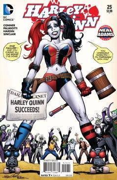 Harley Quinn 25 Neal Adams